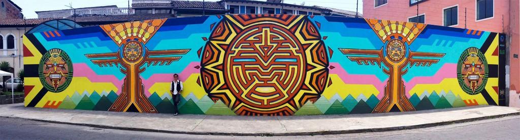 XAVI-Equador-Mural
