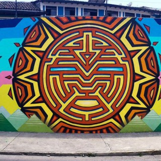 Ecuador Mural