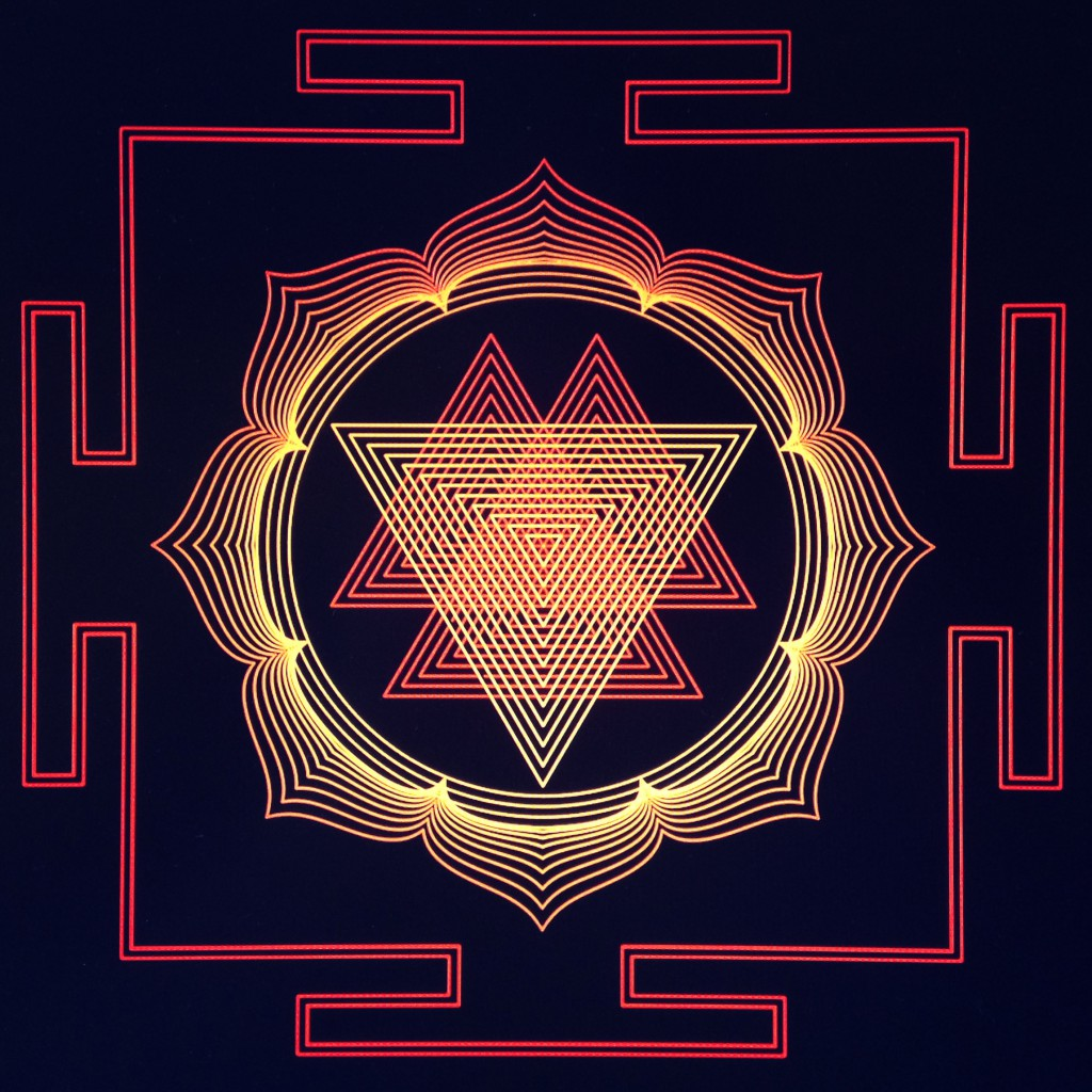 Phong - Durga  Yantra - Math Art