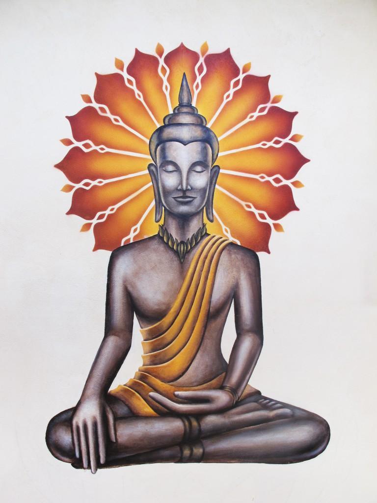 XAVI - Buddha Mural, Ashland OR