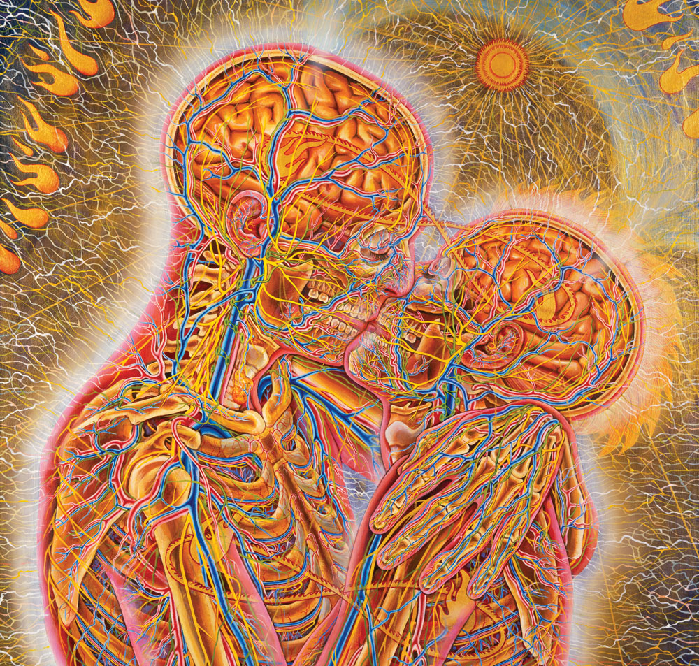 Best friends Alex Grey  № 1523520 бесплатно